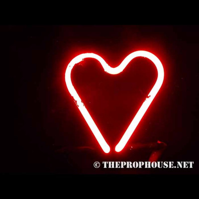 NEON619, NEON, SIGN, HEART, RED