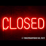 NEON512, NEON, SIGN,  CLOSED, RED