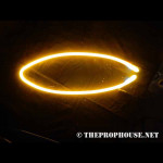 NEON835, NEON, SIGN, OVAL, YELLOW