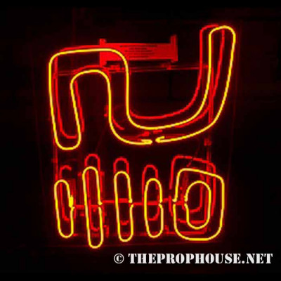 NEON602, NEON, SIGNAGE, LIGHTING, VINTAGE LAMP, SIGNS, LAMPS, LIGHTING, GLASS TUBING, CHINESE CHARACTER
