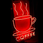 NEON205, NEON, COFFEE, COFFEE CUP, SIGN, COFFEE SHOP