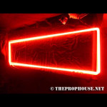 NEON829, NEON, SIGN, ANGLED RECTANGLE, RED