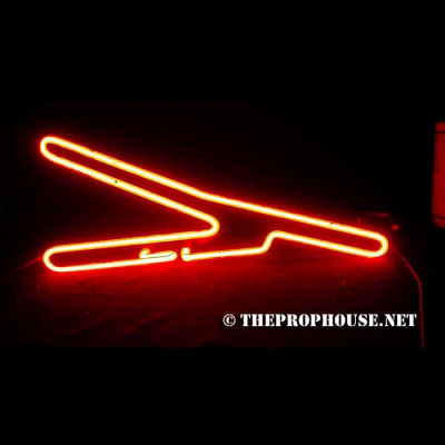 NEON629, NEON, SIGN, Y, RED