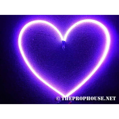 NEON626, Neon Heart Sign, Lighting, Adult Book Store, Adult Toy Store,