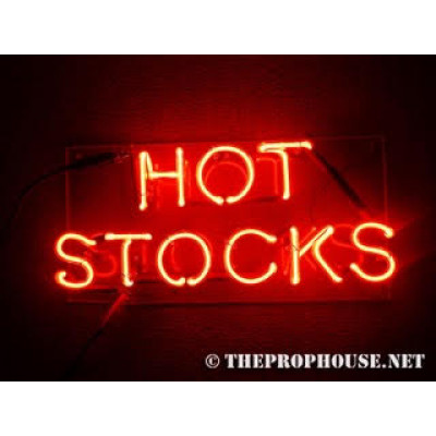 Neon704, Neon Hot Stocks Sign, Restaurants, Nightclubs, Bars, Retail Stores