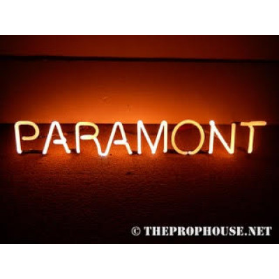 NEON708, Neon Paramount Sign, Theaters, Record Stores