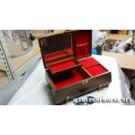 JEWELRYBOX1, Jewelry Box, Asian Cover, Red Dual level interior