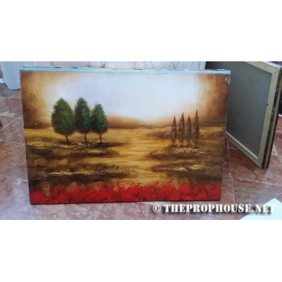 TREES IN SWAMP PAINTING, Furnishing, Wall Decoration