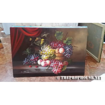 Grapes Painting, painting, wall decoration