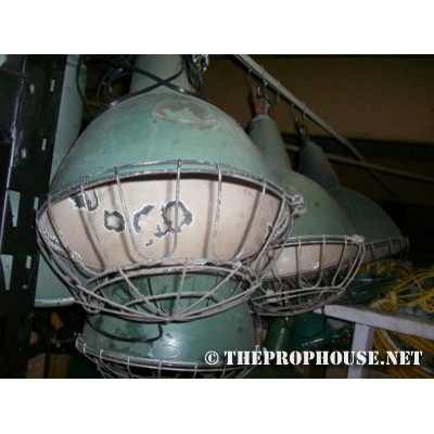 LAMPS, CAGED LIGHTS, CAGED LAMPS, INDUSTRIAL LAMPS, LIGHTS