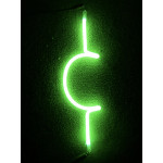 NEONNEON614, NEON, SIGNAGE, LIGHTING, VINTAGE LAMP, SIGNS, LAMPS, LIGHTING, GLASS TUBING, CENT SIGN, SIGN, BLUE, GREEN