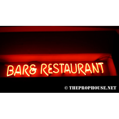 NEON202, NEON, SIGNAGE, LIGHTING, VINTAGE LAMP, SIGNS, LAMPS, LIGHTING, GLASS TUBING,BAR AND RESTAURANT, SIGN, RED