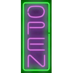 NEON504, NEON, SIGNAGE, LIGHTING, VINTAGE LAMP, SIGNS, LAMPS, LIGHTING, GLASS TUBING, OPEN SIGN, PURPLE, GREEN, BLACK