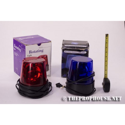 LAWENFORCEMENT3, ROTATING EMERGENCY LIGHTS, ROTATING EMERGENCY LIGHTS, CAR TOP LIGHTS, BLUE, RED