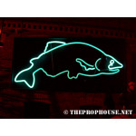 NEON611, NEON, SIGNAGE, LIGHTING, VINTAGE LAMP, SIGNS, LAMPS, LIGHTING, GLASS TUBING, FISH NEON, FISH