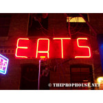 NEON206, NEON, SIGNAGE, LIGHTING, VINTAGE LAMP, SIGNS, LAMPS, LIGHTING, GLASS TUBING, EATS NEON, RESTAURANT, FOOD