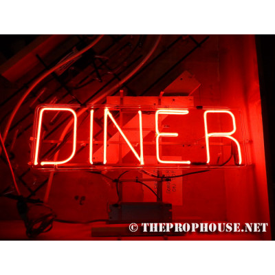 NEON201, NEON, SIGNAGE, LIGHTING, VINTAGE LAMP, SIGNS, LAMPS, LIGHTING, GLASS TUBING, DINER NEON, DINER