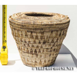 Partly Covered Basket