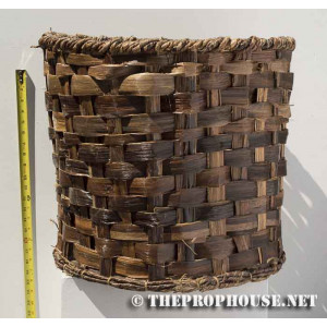 Wicker Strap Basket