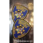 Security Guard PatchesSecurity Guard Patches, 2 Security Guard Patches, Security Uniform Patches, Shirt Sleeve Patches, Security Credential Patches